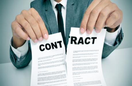 ביטול חוזה ותנאי מקפח כסעיף לביטול חוזה